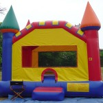 Castle Moon Bounce - Front