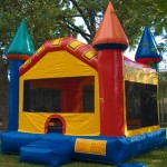 Castle Moon Bounce - Right SIde