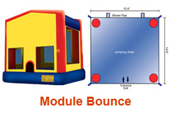 Module Bounce House Rental