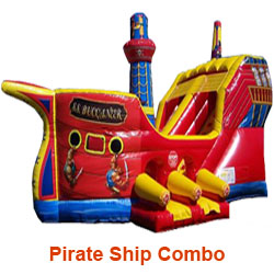 Pirate Ship Combo Unit Rental