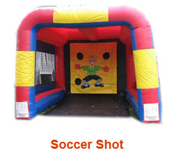 Soccer Inflatable Rental