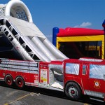 Fire Truck Slide - Entrance