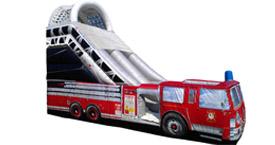Fire Truck Slide Rental