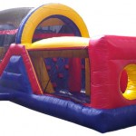 Side Picture of 40ft Obstacle Course