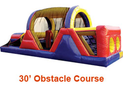 30ft Obstacle Course Rental