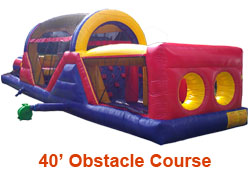 40ft Obstacle Course Rental