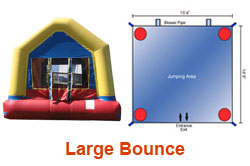 Large Bounce House Rental