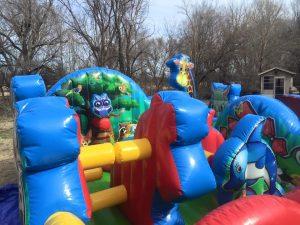 animal kingdom inflatable