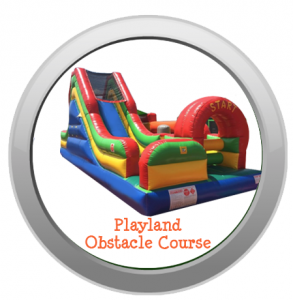 Playland Obstacle Course Inflatable
