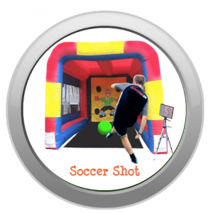 Soccer Shot Inflatable