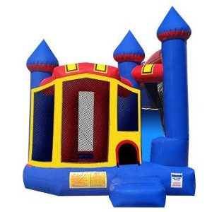 Backyard Castle Inflatable Rental