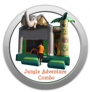 Jungle Adventure Combo Bounce Rental