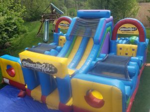 inflatable obstacle course rental philadelphia