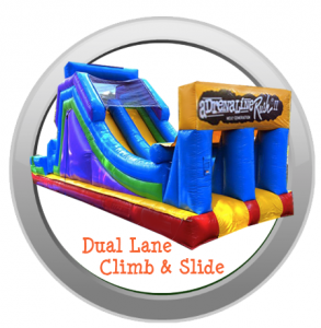 Dual Lane Climb and Slide Rental