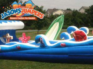 dual slip & slide rentals