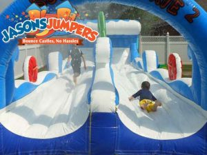 dual slip and slide rental