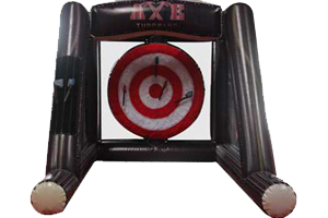 Rent Inflatable Axe Throwing