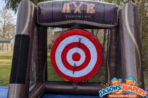 Inflatable Axe Toss