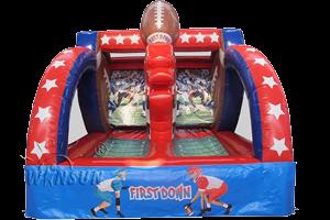 Rent Inflatable Football Toss