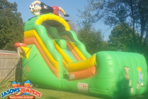rent sports inflatable slides