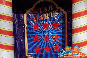 Carnival Game 3 of 3 - Star Darts