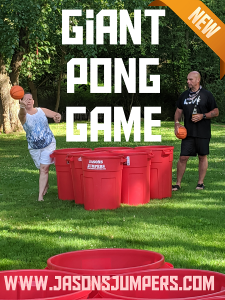 giant pong game rental