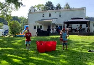 giant pong rental