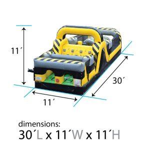 30ft venom dimensions