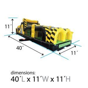 40ft venom dimensions
