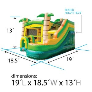 modular tropical combo dimensions